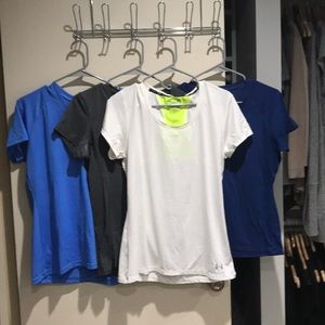 Under Armour workout tees